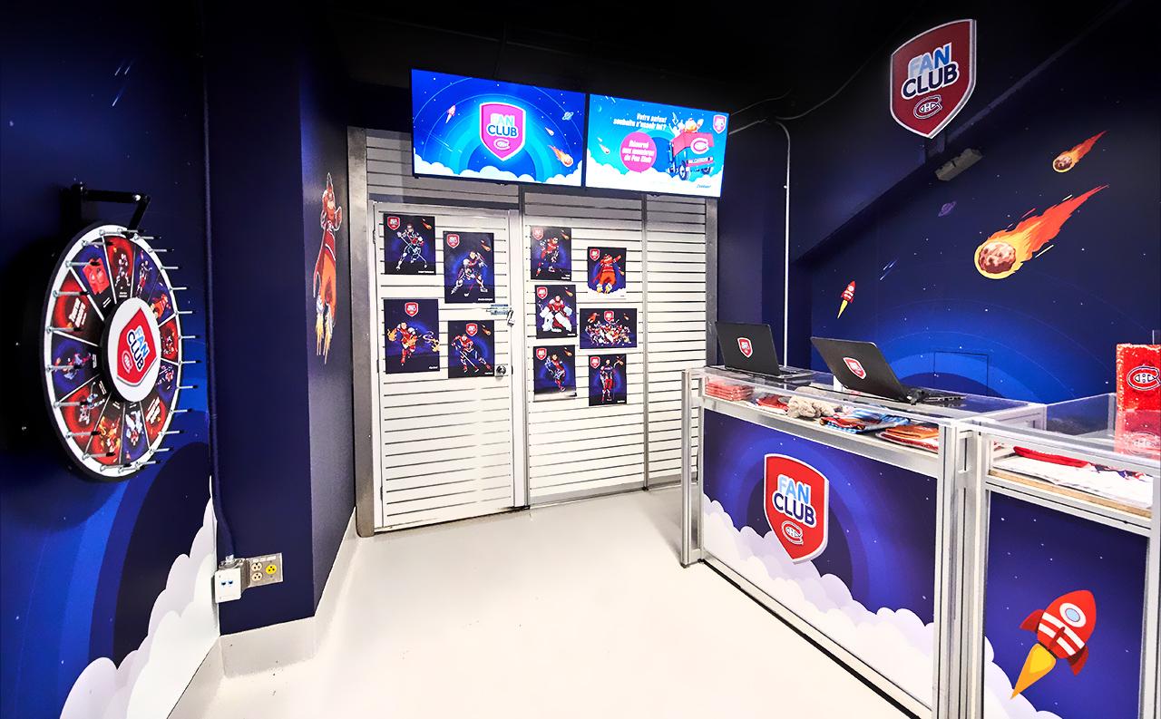Fan Club booth